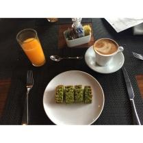 Panqué de Té Verde.