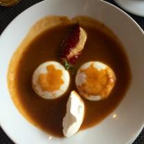 Huevos Poché estilo Marianita.